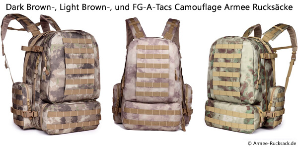 A-Tacs Camouflage Rucksack