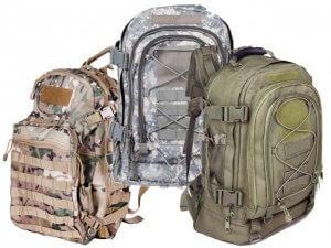 Camouflage Armee Rucksäcke