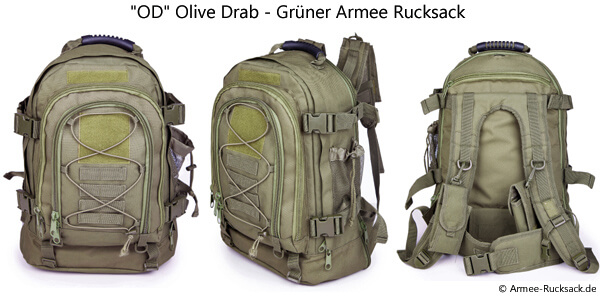OD Olive Drab Rucksack
